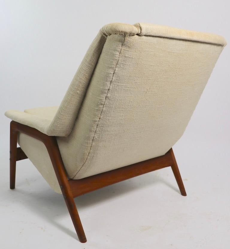 Folke Ohlsson for DUX Lounge Chair For Sale 1