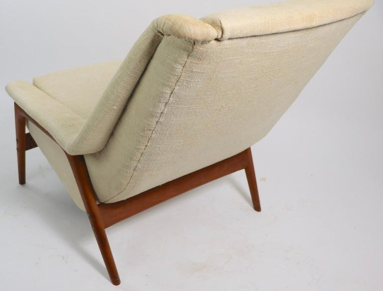 Folke Ohlsson for DUX Lounge Chair For Sale 2