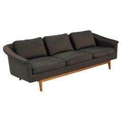Folke Ohlsson for Dux 'Passadena' Sofa in Dark Brown Upholstery