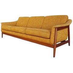 Folke Ohlsson for DUX Teak Danish Modern Sofa