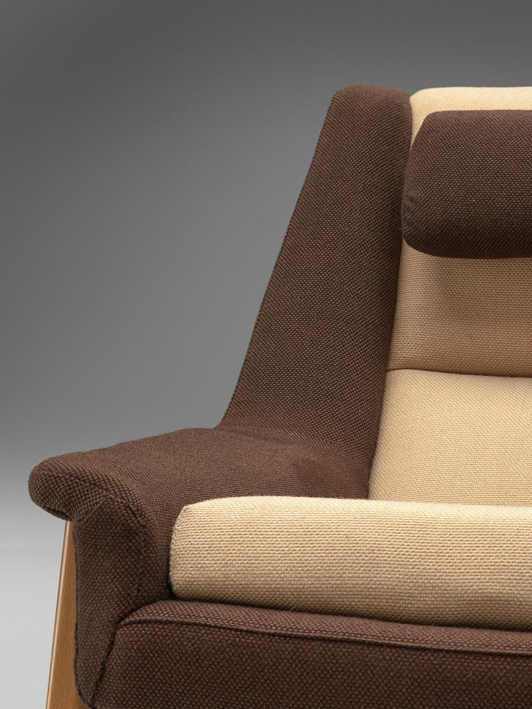 Mid-20th Century Folke Ohlsson for Fritz Hansen Lounge Chair in Fabric For Sale