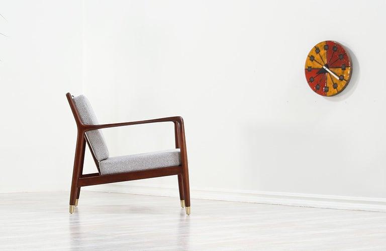 Scandinavian Modern Folke Ohlsson Lounge Chair for DUX For Sale