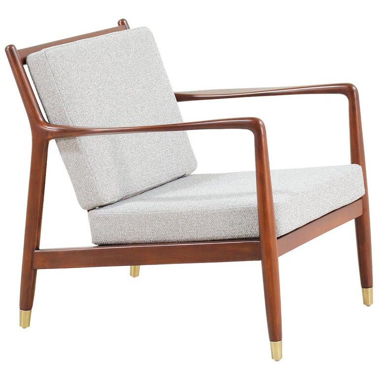 Folke Ohlsson Lounge Chair for DUX For Sale