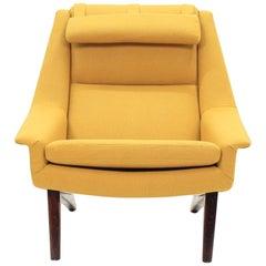 Folke Ohlsson Lounge Chair Model 4410 for Fritz Hansen, 1960s