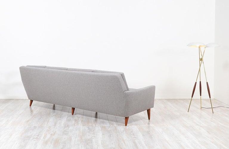 Swedish Folke Ohlsson Model 66-S4 Sofa for Dux For Sale