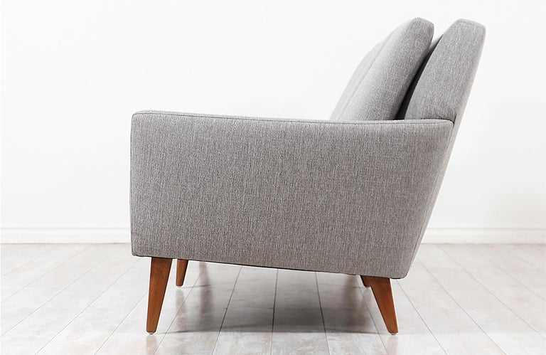 Folke Ohlsson Model 66-S4 Sofa for Dux In Excellent Condition For Sale In Los Angeles, CA