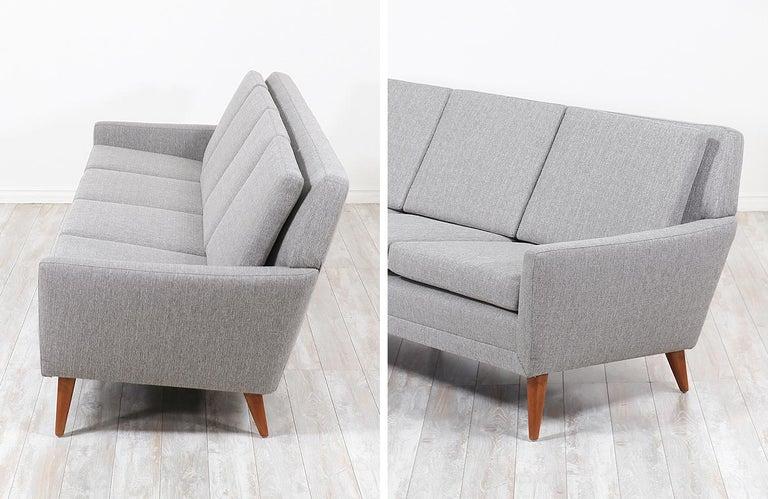 Mid-20th Century Folke Ohlsson Model 66-S4 Sofa for Dux For Sale
