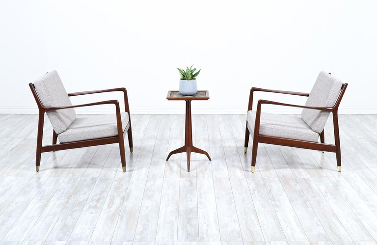 Folke Ohlsson Model USA-143 lounge chairs for DUX.