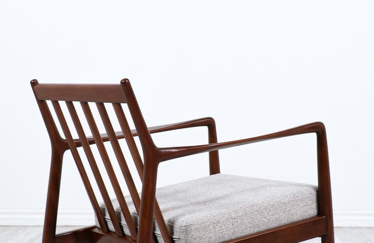 Mid-20th Century Folke Ohlsson Model USA-143 Lounge Chairs for DUX For Sale