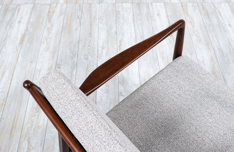 Foam Folke Ohlsson Model USA-143 Lounge Chairs for DUX For Sale