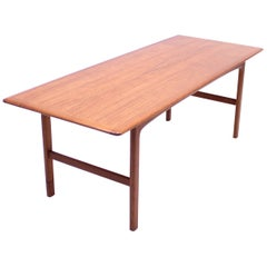 Folke Ohlsson, Rapsodi Teak Coffee Table, Tingströms, 1950s