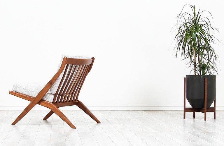 Swedish Folke Ohlsson Scissor Lounge Chair for Dux