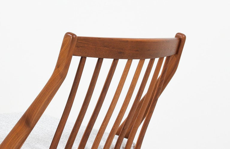 Folke Ohlsson Scissor Lounge Chair for Dux In Excellent Condition In Los Angeles, CA