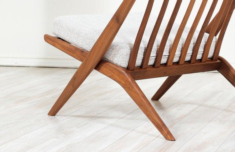Mid-20th Century Folke Ohlsson Scissor Lounge Chair for Dux