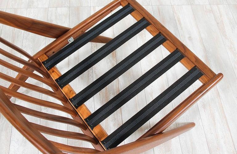 Fabric Folke Ohlsson Scissor Lounge Chair for Dux