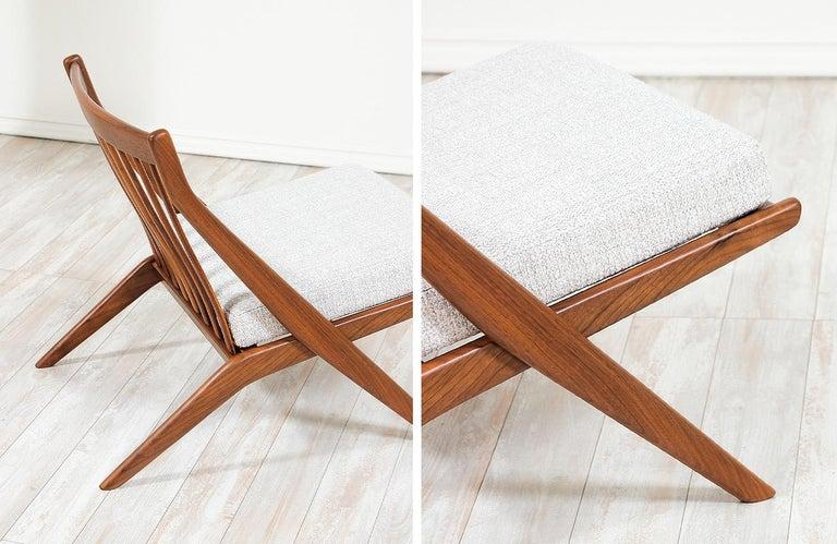 Folke Ohlsson Scissor Lounge Chair for Dux 1