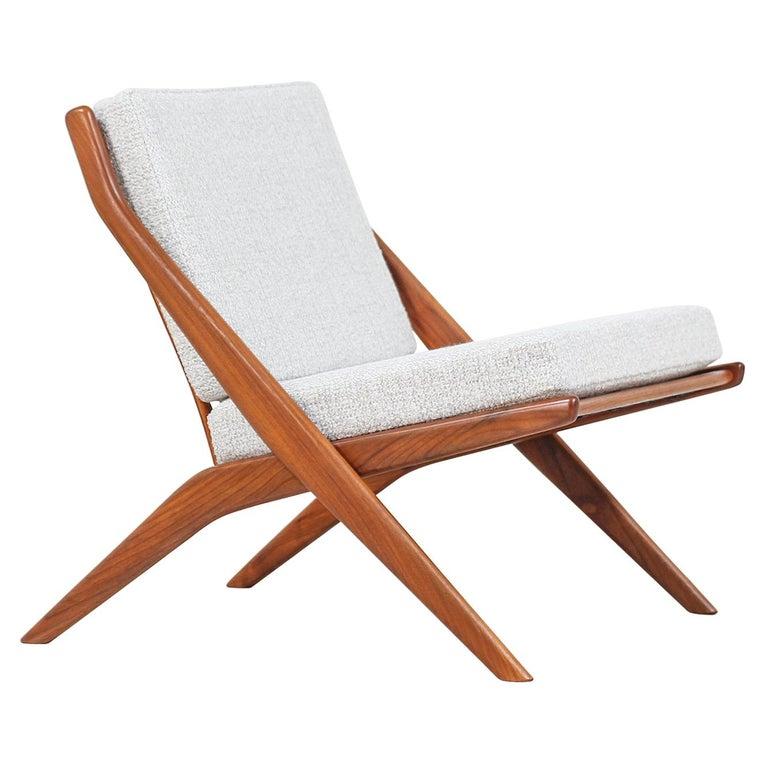 Folke Ohlsson Scissor Lounge Chair for Dux