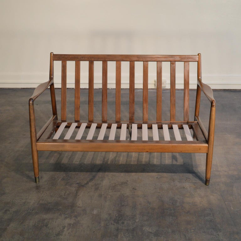 Folke Ohlsson Settee Loveseat for DUX In Good Condition In Portland, ME