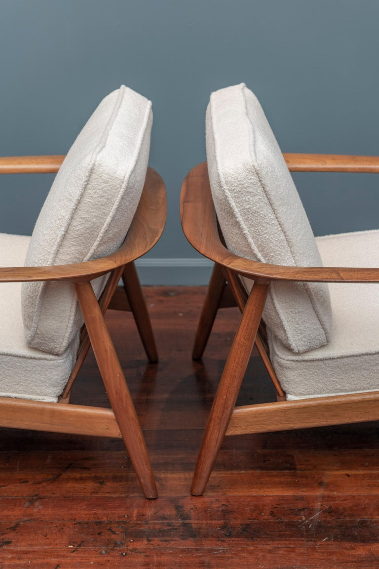 Folke Olhsson Lounge Chairs for DUX For Sale 1