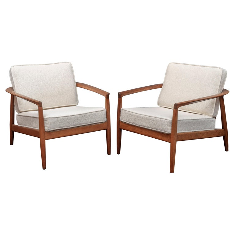 Folke Olhsson Lounge Chairs for DUX For Sale