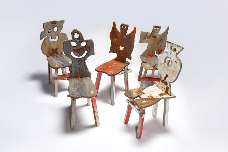 Folks 29 Chair by Serban Ionescu For Sale 3