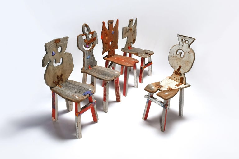 Folks 29 Chair by Serban Ionescu For Sale 4