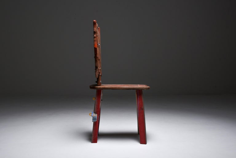 Romanian Folks 29 Chair by Serban Ionescu For Sale