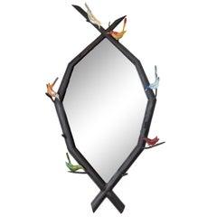 Folky Bird Mirror