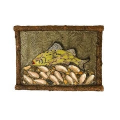 Folky Fish Plaque
