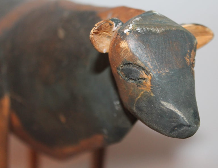 American Folky Handmade Cow For Sale