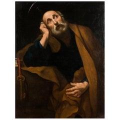 "Follower Jose De Ribera 17th Century ""the Tears of Saint Peter"""