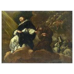 "Follower of Corrado Giaquinto ""Ascension of the Saints"", 18th Century"