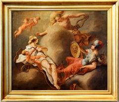 Meeting Between Venus, Minerva And Apollo