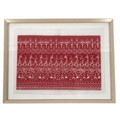 Folly Cove Designers Ballet Rehearsal Hand Block Print