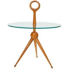 Fontana Art Style Tripod Side Table