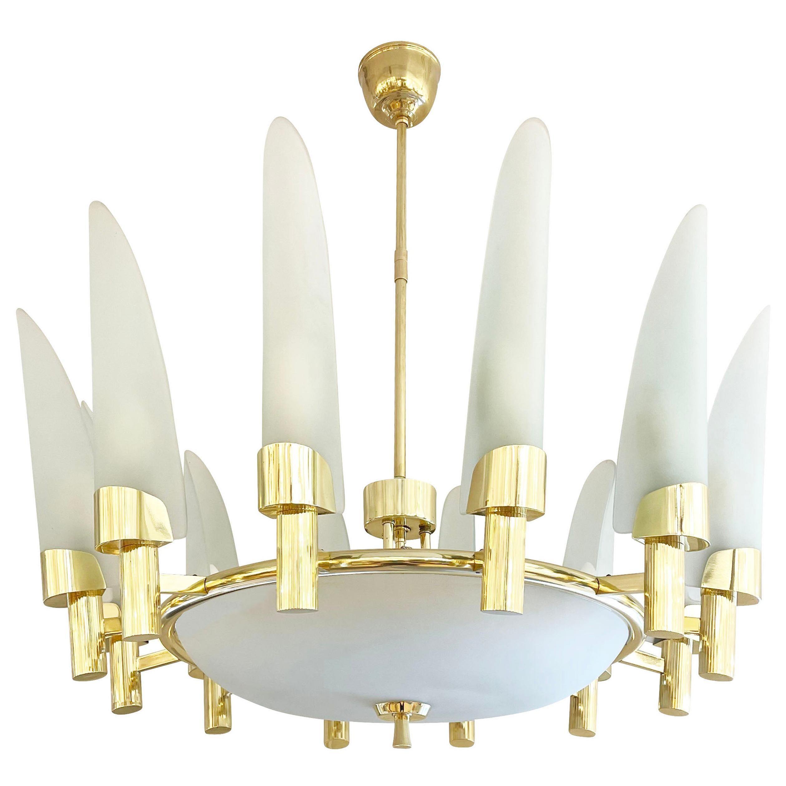 Fontana Arte Attributed Pendant, Italy, 1960s