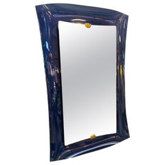 Fontana Arte Blu Mirror, Italy, 1950s