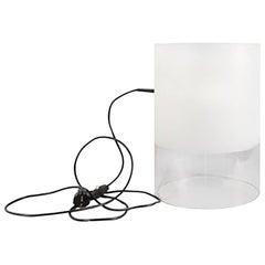 "Fontana Arte ""Fatua"" Glass Table Lamp by Guido Rosati"
