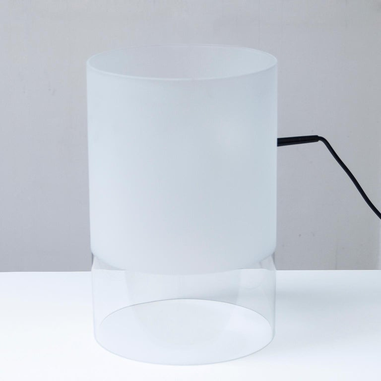 Mid-Century Modern Fontana Arte Fatua Table Lamp by Guido Rosati For Sale