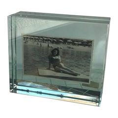 Fontana Arte Frame Glass, 1965, Italy