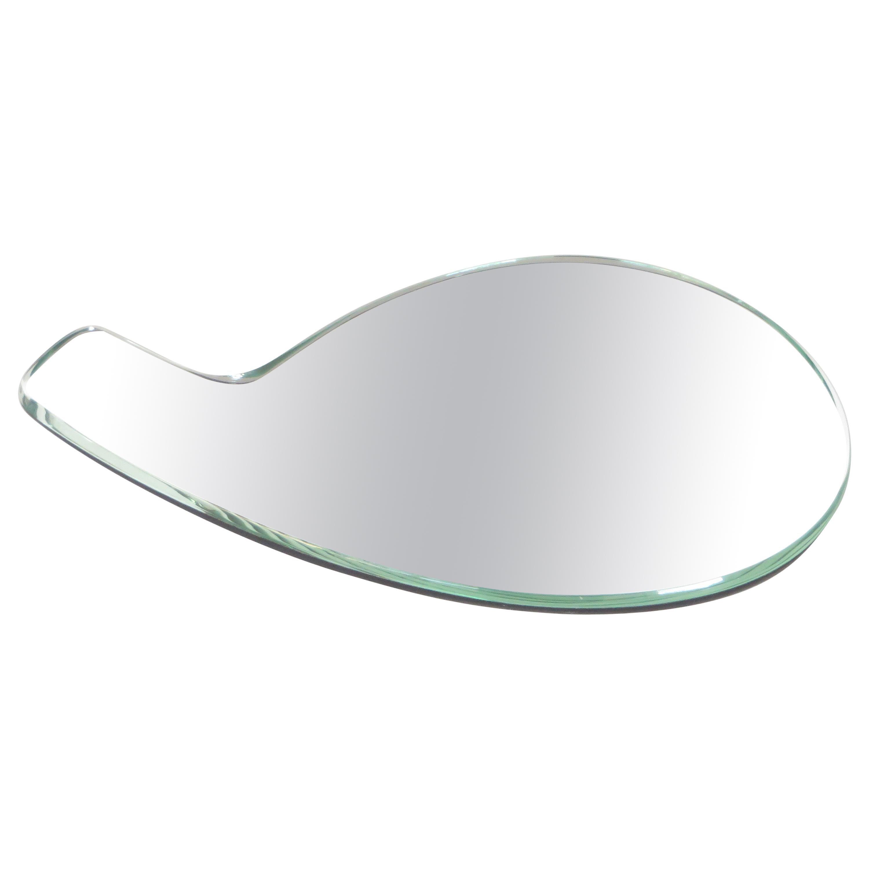 Fontana Arte Hand Mirror by Italian Architect Gio Ponti