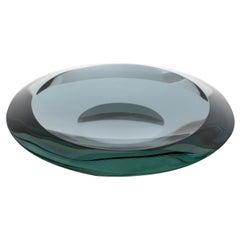 Fontana Arte Italian Glass Dish Model 2036