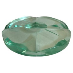 Fontana Arte Italian Mid-Century Modern Crystal Ashtray or Centrepiece, 1950s