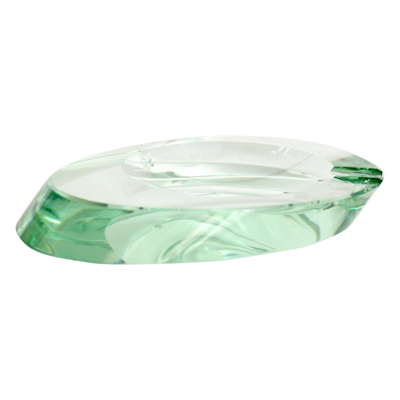 Fontana Arte Italian Murano Glass Ashtray Dish Vide Poche