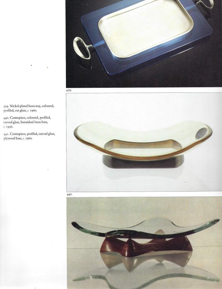 Fontana Arte Large Gray Glass Dish or Centerpiece Model 1419 For Sale 4
