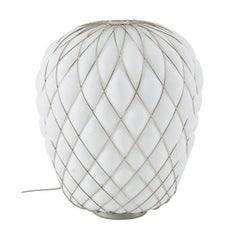 "Fontana Arte ""Pinecone"" Small Blown Glass Table Lamp Designed by Paola Navone"