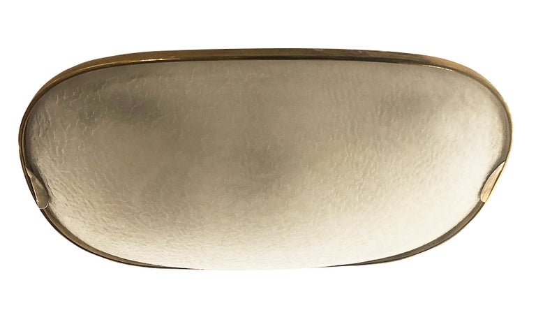 Fontana Arte Racetrack Flush Mount or Sconce In Good Condition In New York, NY