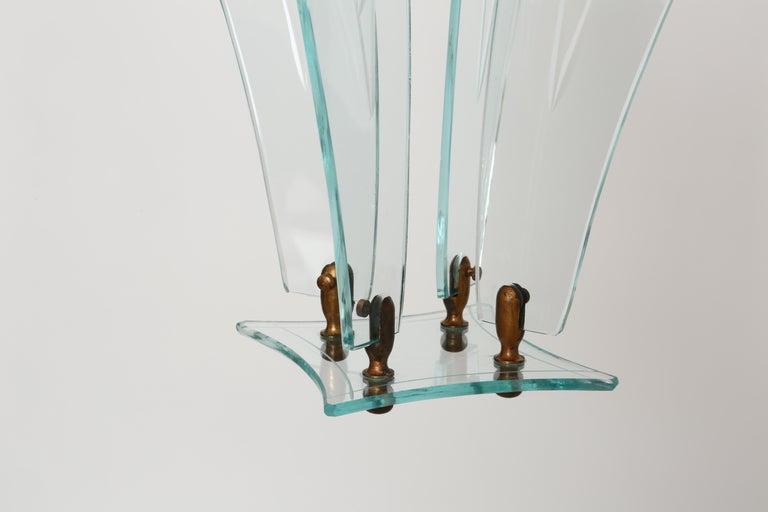 Fontana Arte style lantern For Sale 1