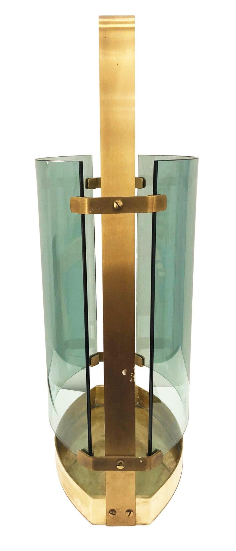 Mid-Century Modern Fontana Arte Umbrella Stand For Sale