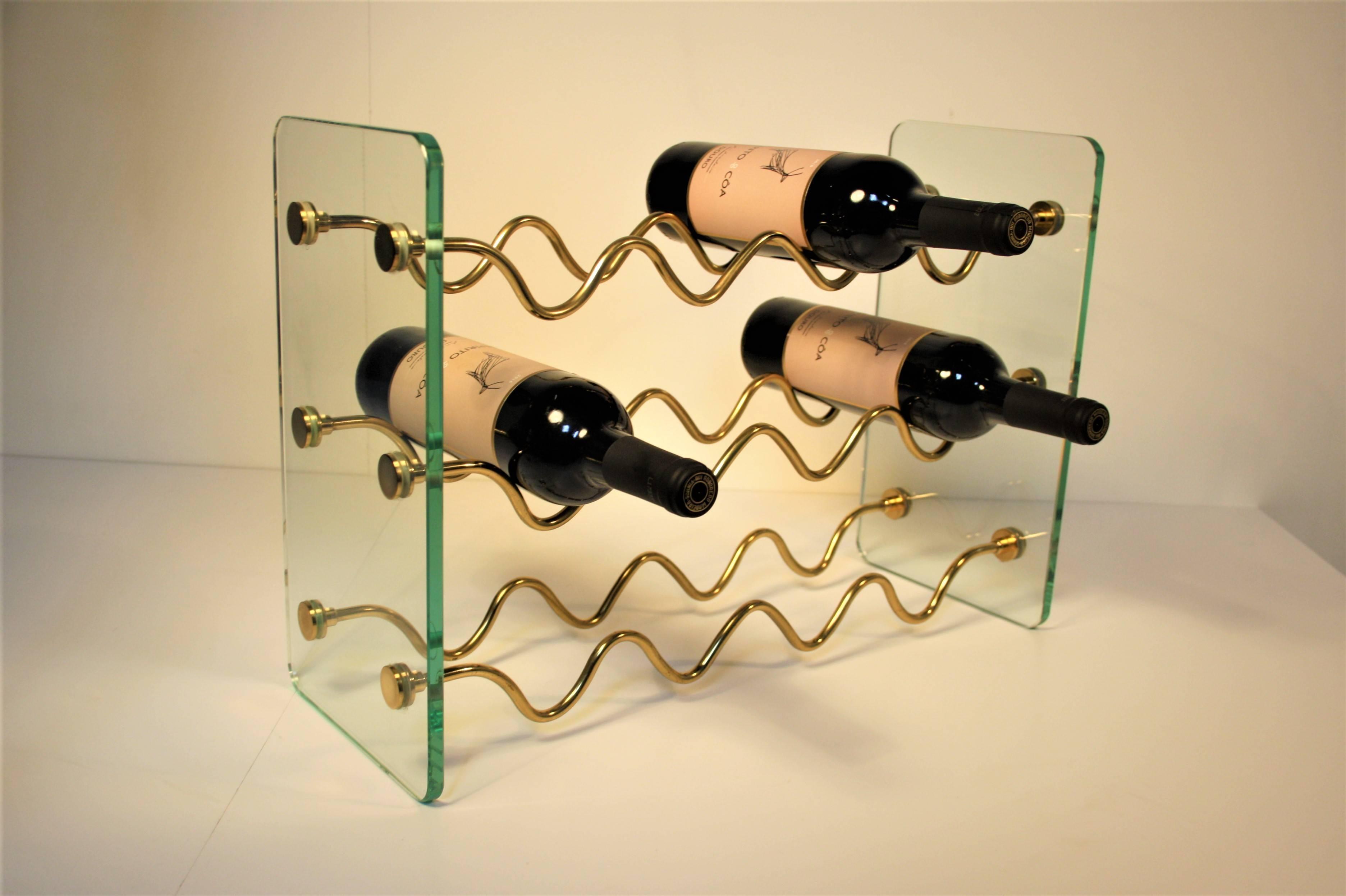 Fontana Arte Wine Bottle Holder at 1stdibs